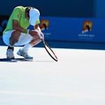 『全豪オープンテニス ワウリンカにストレートで敗れ、錦織は準々決勝敗退』